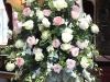 CaDZAn garden-roses-arrangements in pink and white