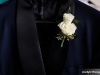 Double Spray Rose Boutonniere