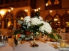 Feasting Table with Gold, White roses, Greens, Pearls, and Cutie Oranges