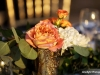 Peach Table Decor
