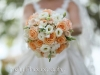 Bridal Bouquet with Tiffany Roses, Lizanthus, Dendrobium Orchids
