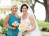 Bride and Maid of Honor with Bouquets