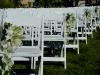 Wedding aisle- Ritz Beach Club Sarasota