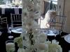 Wedding centerpiece Ritz Carlton Members Beach Club Sarasota Sunset Terrace