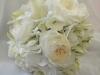 Bridal bouquet-hydrangea-lilies- tulips-David Austin Roses Patience's