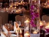 wedding-centerpieces -of-submerged-purple-orchids