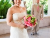 Powel Crosley Estate, hot pink and lime green bridal bouquet