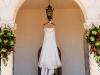 Powel Crosley Estate, wedding dress with flowers