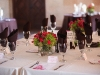 Powel Crosley Estate, hot pink and lime green wedding centerpiece