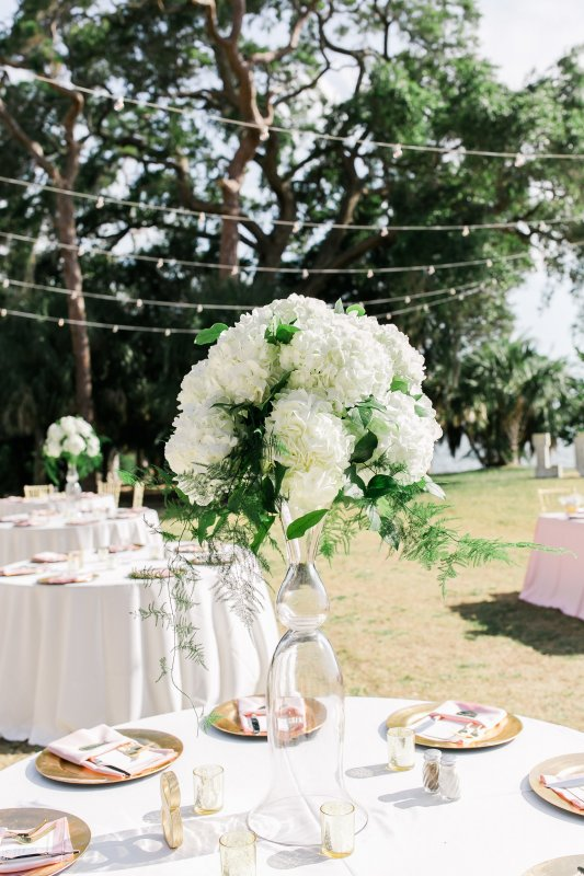 Elevated Reception Table Centerpiece