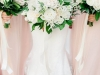 Bridal Bouquet of Garden Roses, Astilbe, Lizanthus, and more