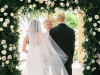 Ceremony at Powel Crosley Estate with Arch
