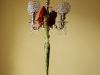 Bling candelabra, Philippi Estate Mansion, Sarasota, FL