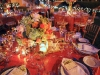 Ringling Courtyard candle light wedding centerpieces