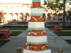 Wedding cake-Flowers-Kumquats