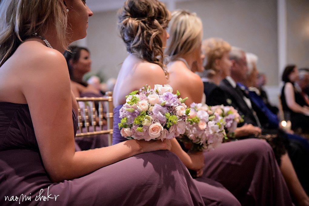 Bridal Bouquets, Lizanthua, pink spray roses, freesia, Ritz Carlton Destination Wedding