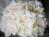 Bridal Bouquet with peonies, hydrangea, and roses,  Ritz Carlton Destination Wedding Sarasota