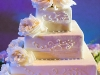 Wedding Cake with Garden Roses, Destination Wedding Ritz Carlton Sarasota
