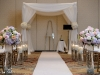 Pretty Chuppa, roses, Ritz Carlton Destination Wedding Sarasota