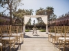 Wedding Ceremony Site with Draping