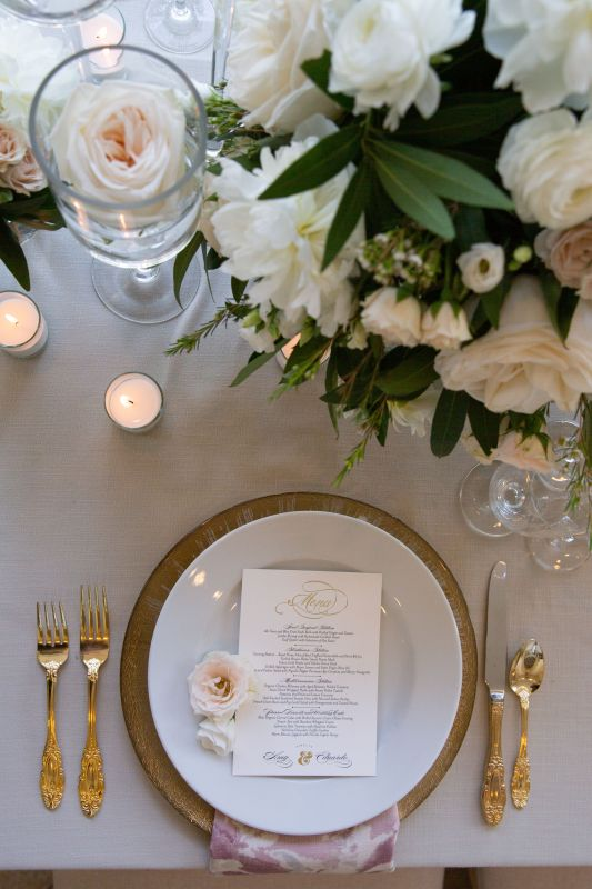 Close Up of Table Setting