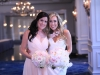 Maid of Honor and Bride in Pink and White