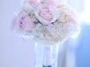 Bridesmaids Bouquet of Blush Hydrangea Pink Mondial Garden Like Roses