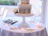 Wedding Cake with Playa Blanca Garden Roses