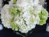 green-white-hydrangea-white-rose-centerpiece