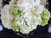 green-white-hydrangea-white-rose-centerpiece