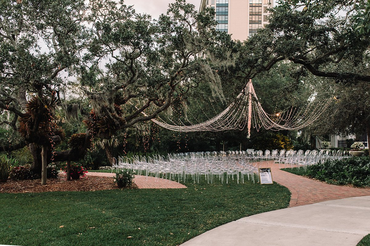 Ceremony Site at Marie Selby Gardens