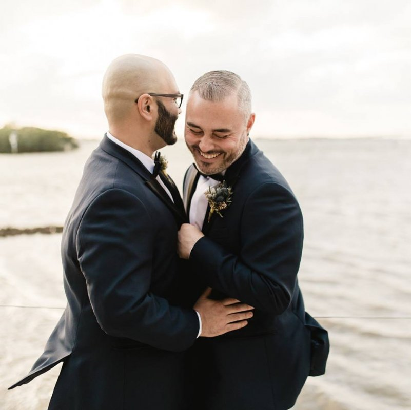 Grooms with Boutonnieres