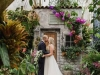 Wedding Couple in Marie Selby Botanical Gardens Greenhouse
