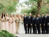 Wedding Party with Bouquets and Boutonnieres