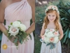 Bridesmaids and Flower Girl Bouquet