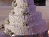 cake-with-white-spray-roses-and-wax-flowers