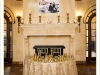 Sweetheart Table and Mantle with Candles