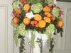 roman-column-circus-roses-with-bells-of-ireland