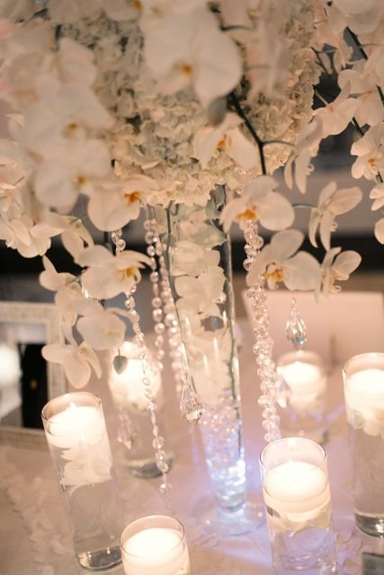 Phalaenopsis orchid wedding arrangement