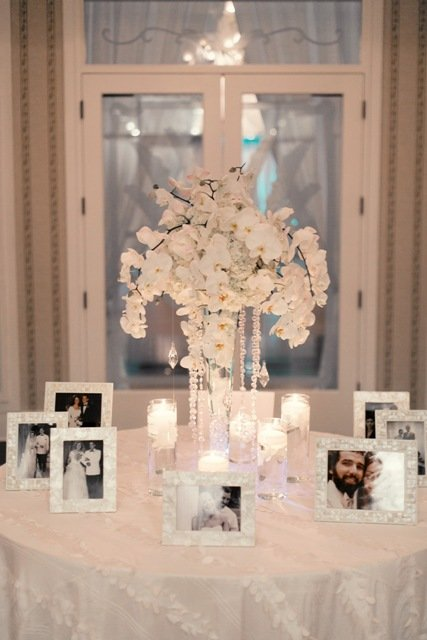 Phalaenopsis orchid wedding centerpiece