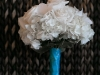 White bridesmaids bouquet