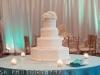 wedding cake-with-hydrangea