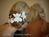 Stunning orchids in hair