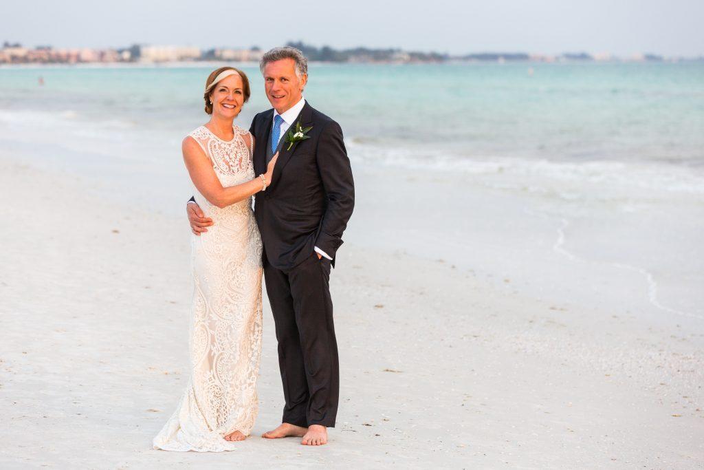 Happy Couple on Siesta Key Beach