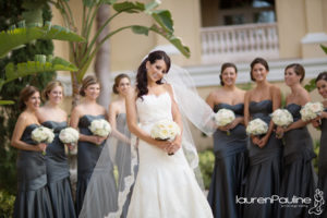 Bridal party Ritz Carlton Sarasota