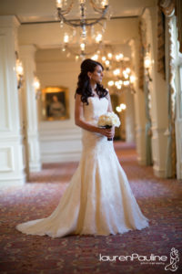 bridal bouquet Ritz Carlton bride