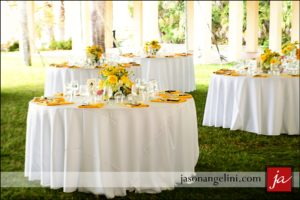 Beautiful Indian Wedding yellow centerpieces